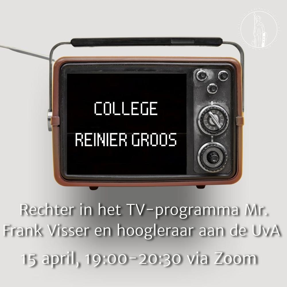College Reinier Groos (Mr. Frank Visser)