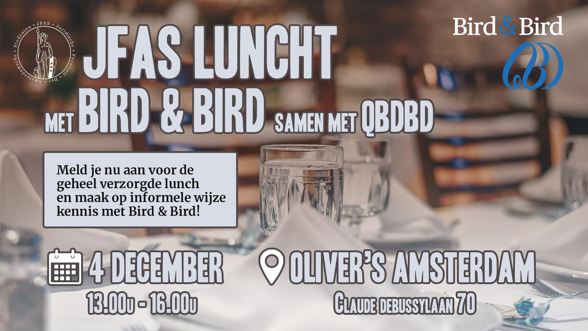 JFAS luncht met Bird & Bird