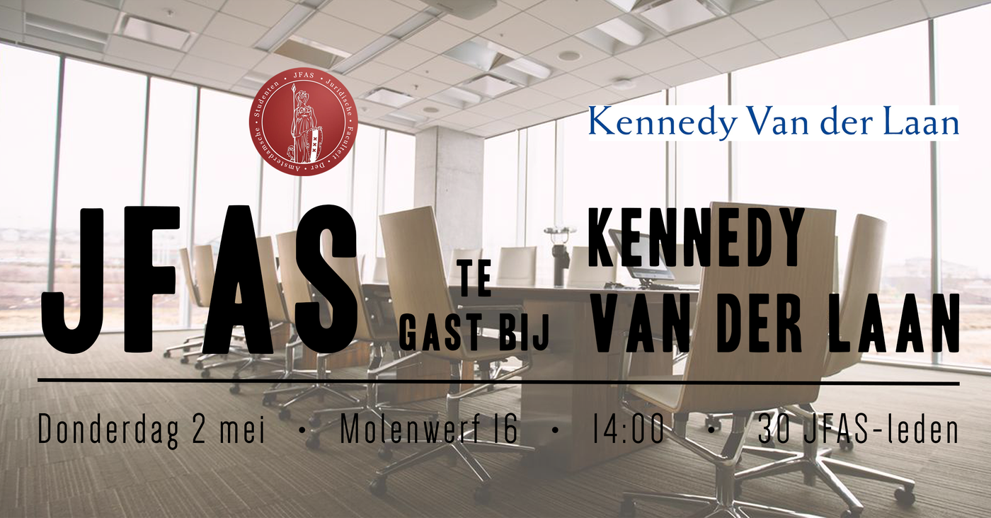 Kantoorbezoek Kennedy van der Laan