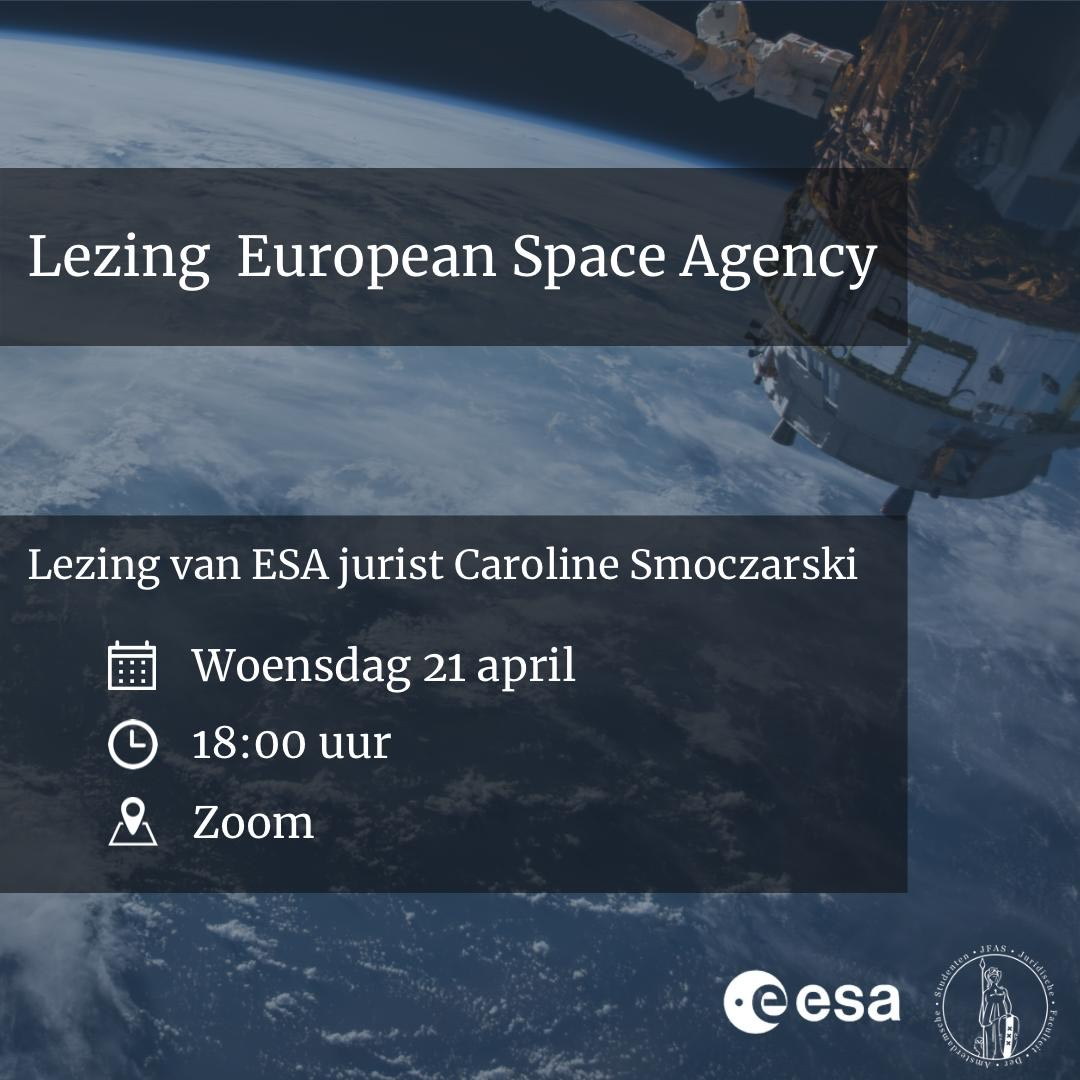 Lezing European Space Agency