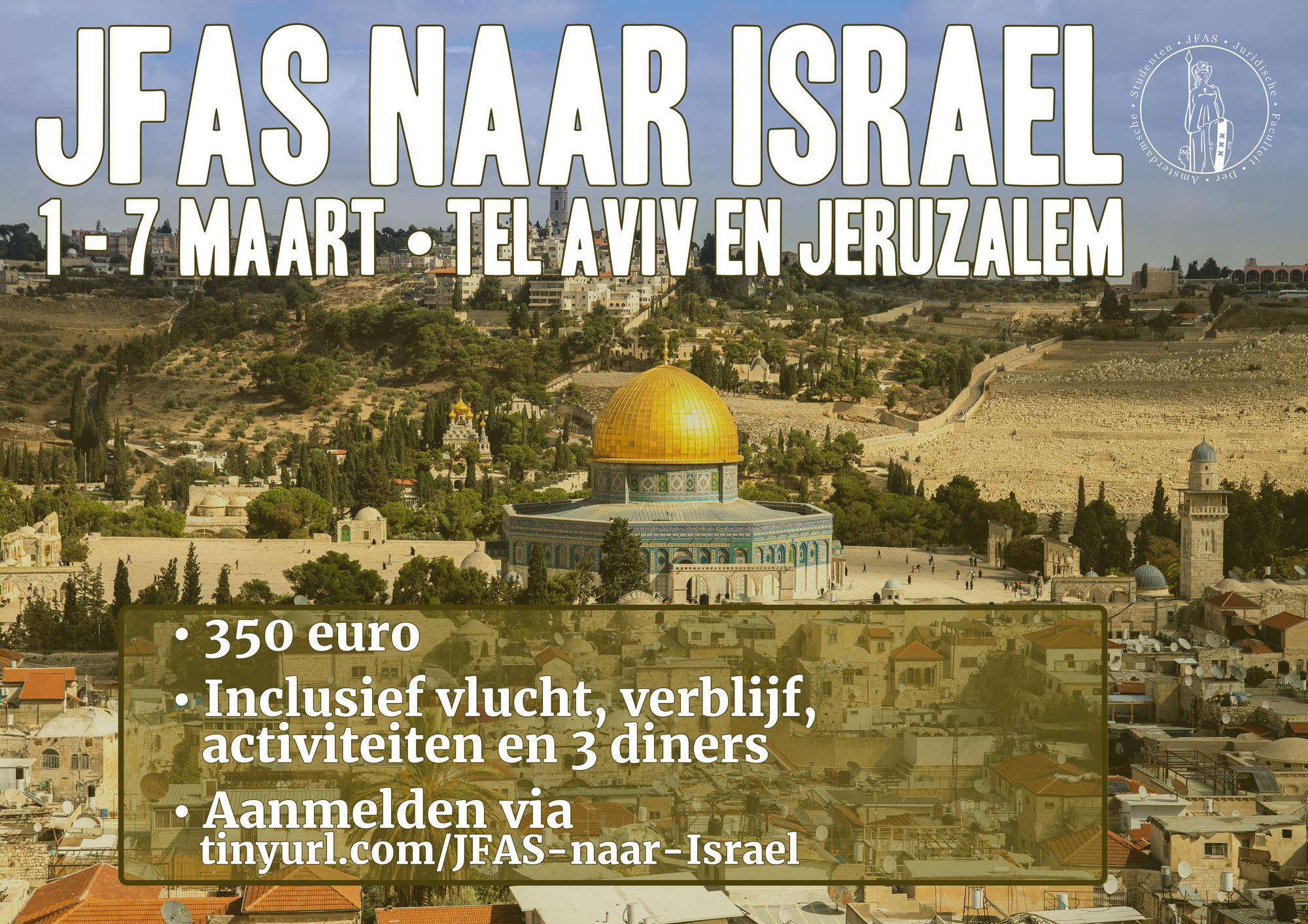 Bachelorreis: Tel Aviv en Jerusalem