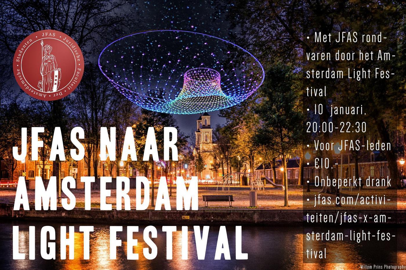 JFAS x Amsterdam Light Festival