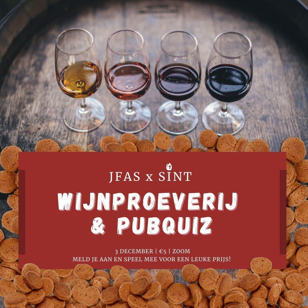 Sinterklaas Wijnproeverij