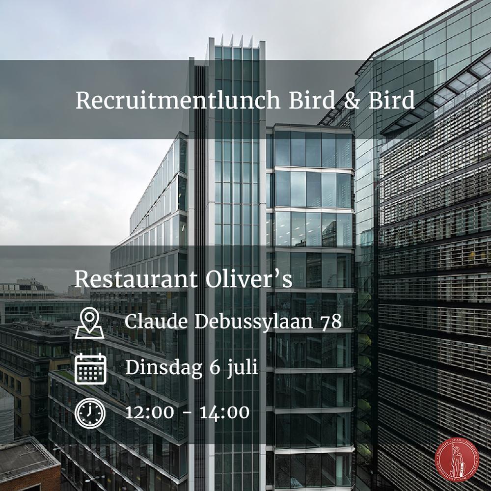 Recruitmentlunch Bird & Bird
