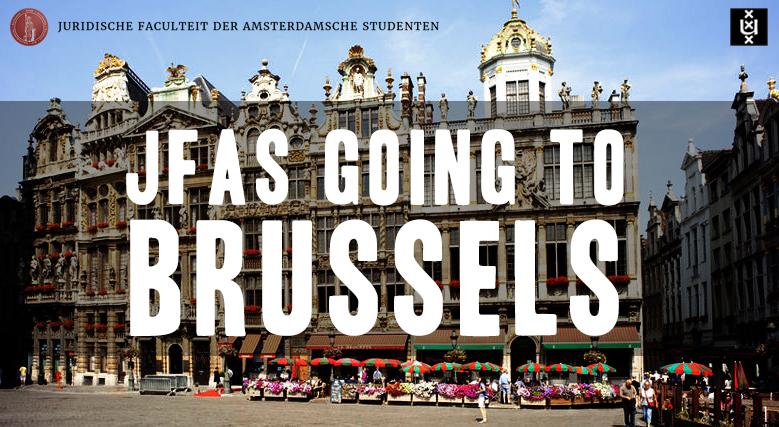 JFAS x UvA going Brussels!