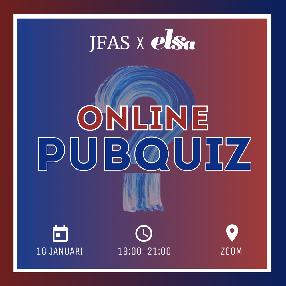 JFAS x ELSA Pubquiz