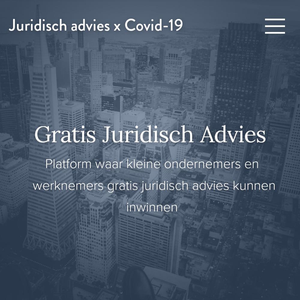 Juridisch advies COVID-19