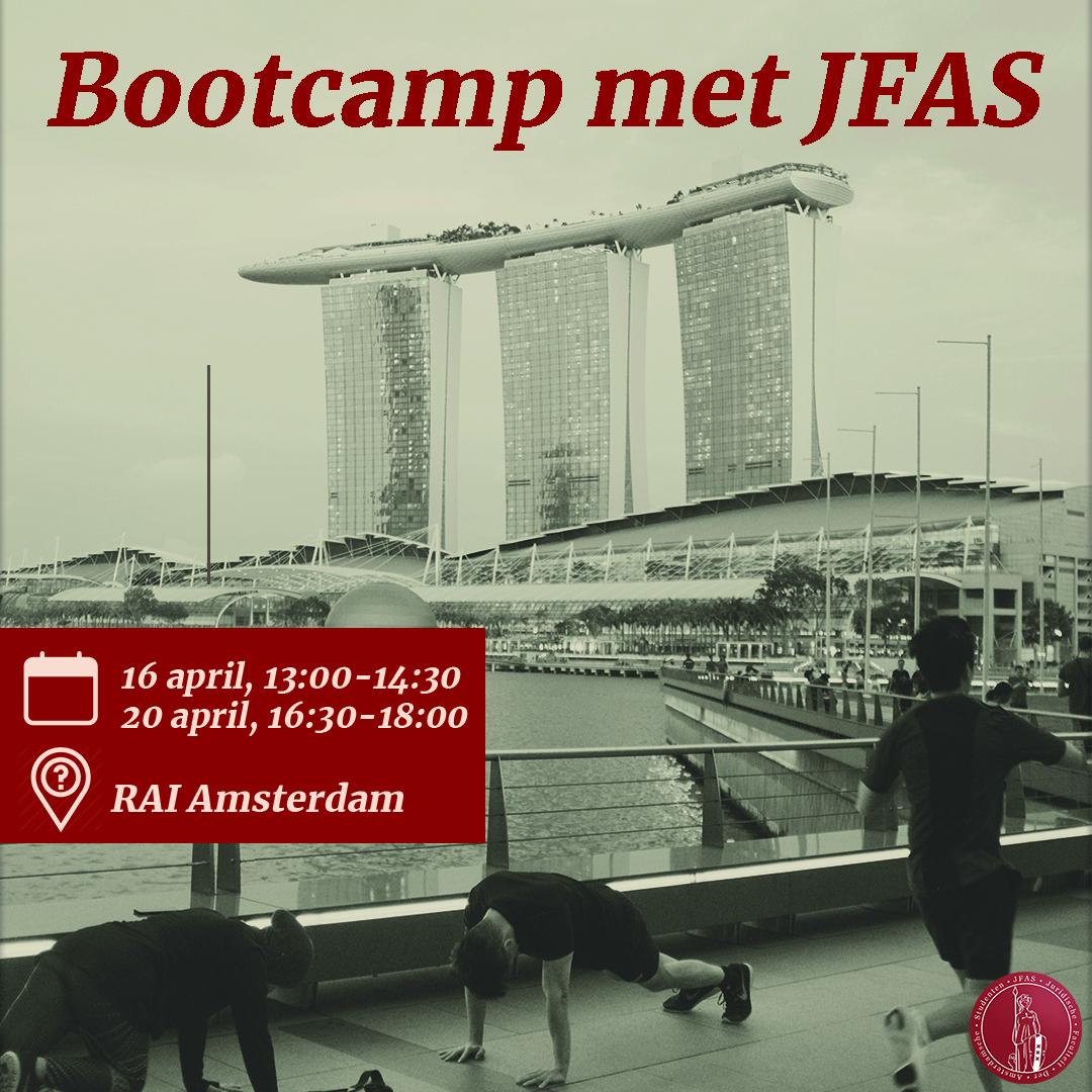 Bootcamp met JFAS - Dag 2