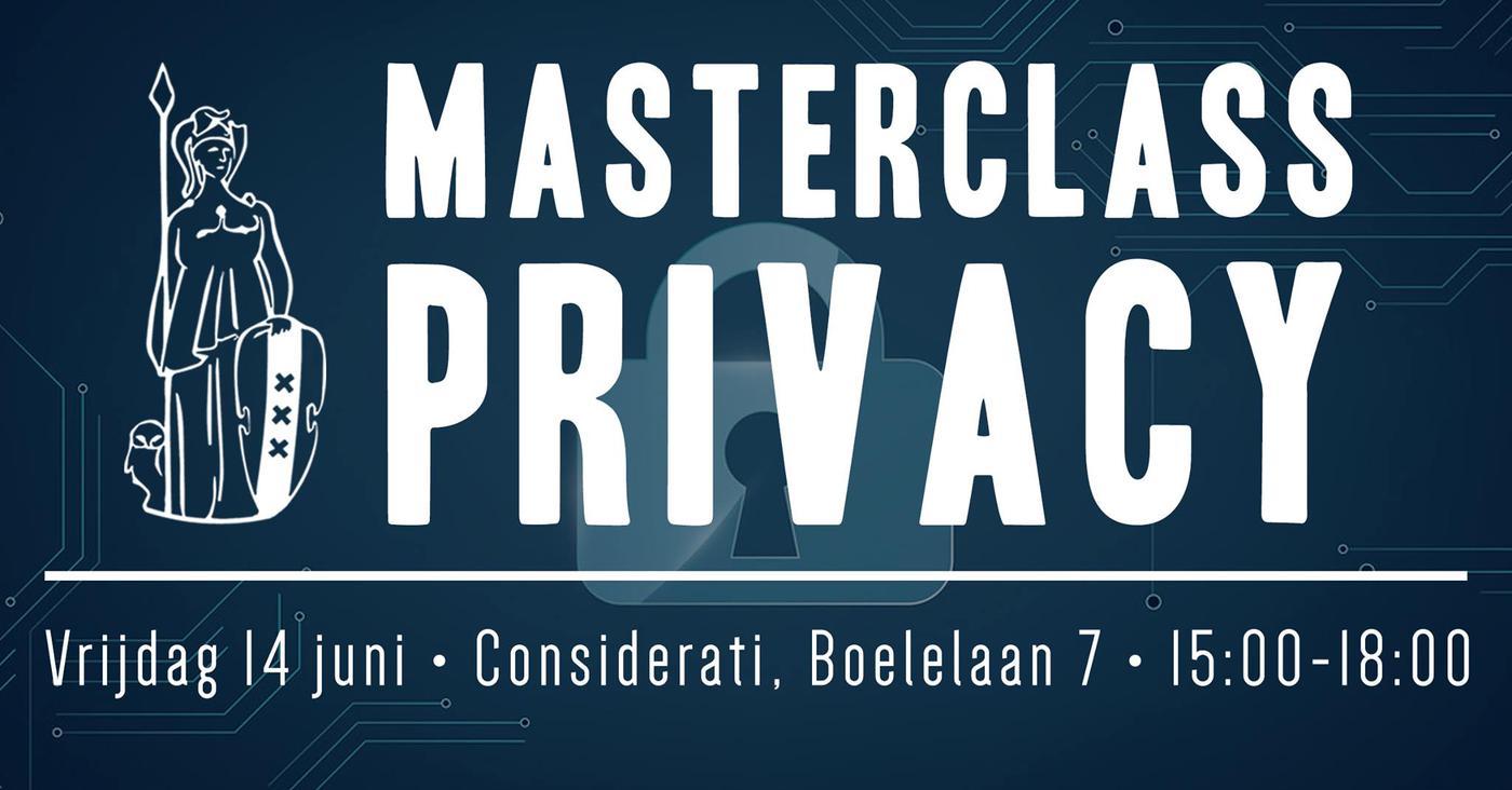 Masterclass Privacy