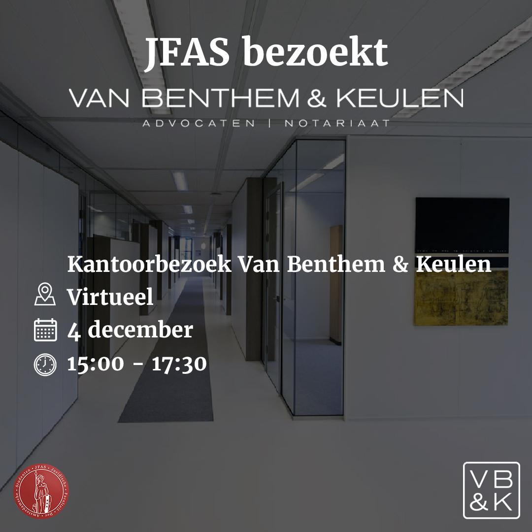 Kantoorbezoek Van Benthem & Keulen