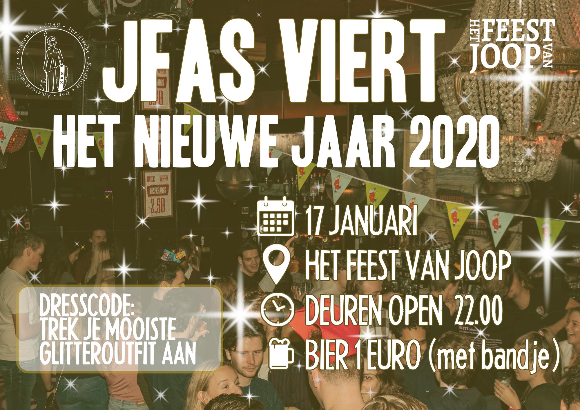 JFAS nieuwjaarsfeest