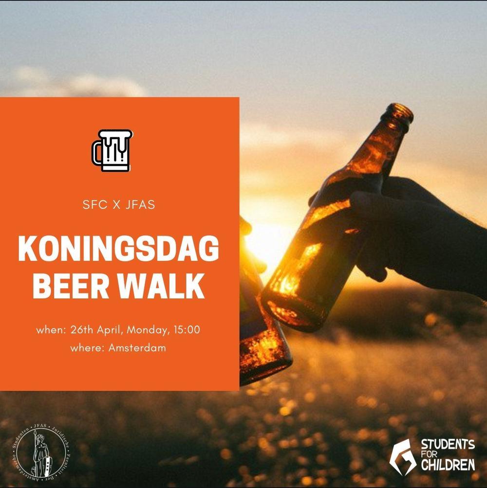 Koningsdag Beer Walk