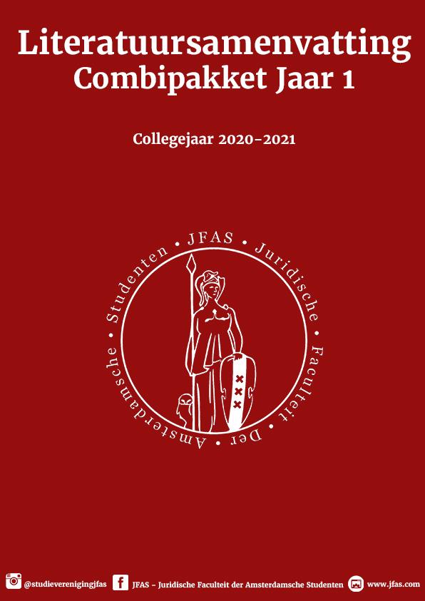Combipakket Europees Recht en Recht en Menselijk Gedrag