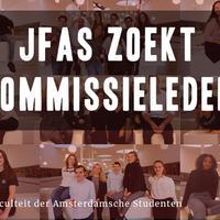 Aanmeldingen commissies geopend!