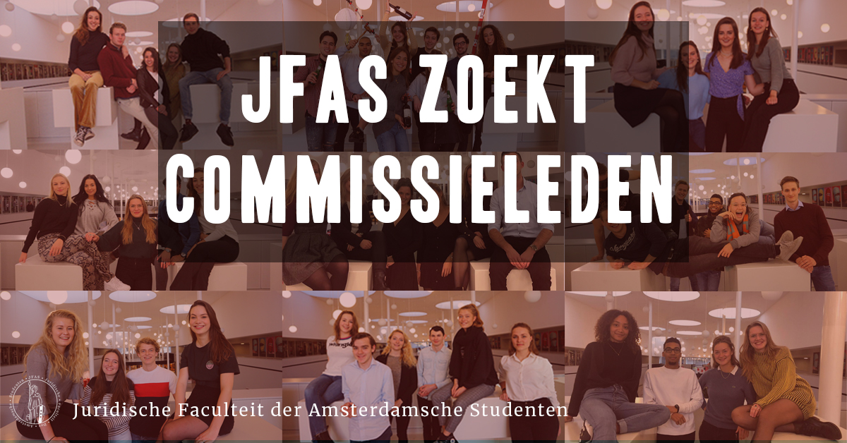 Commissieaanmeldingen geopend!