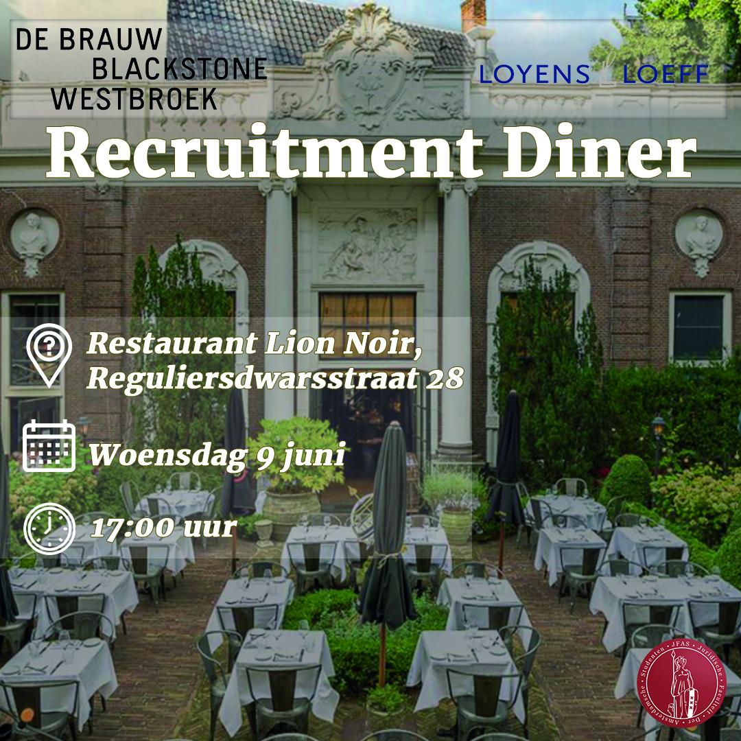 Recruitment Diner