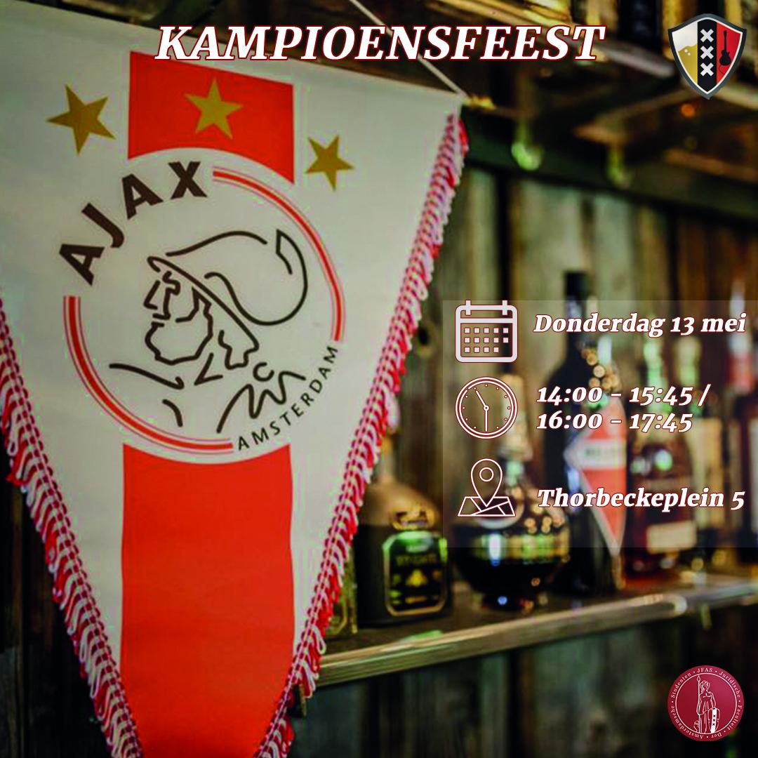 JFAS - AJAX Kampioensfeest