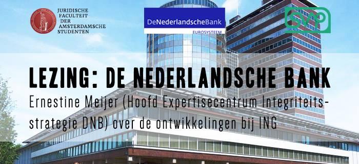 Lezing: De Nederlandsche Bank