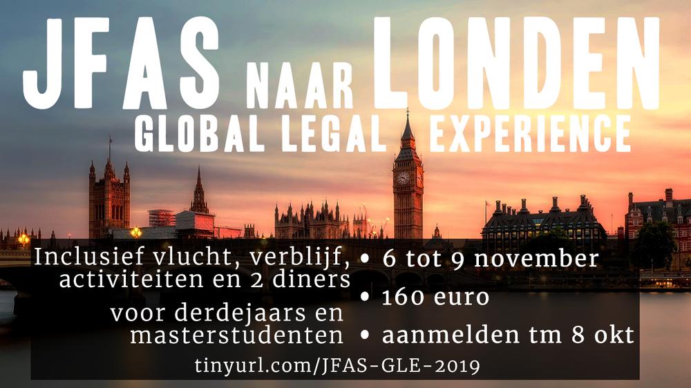 JFAS naar Londen!
