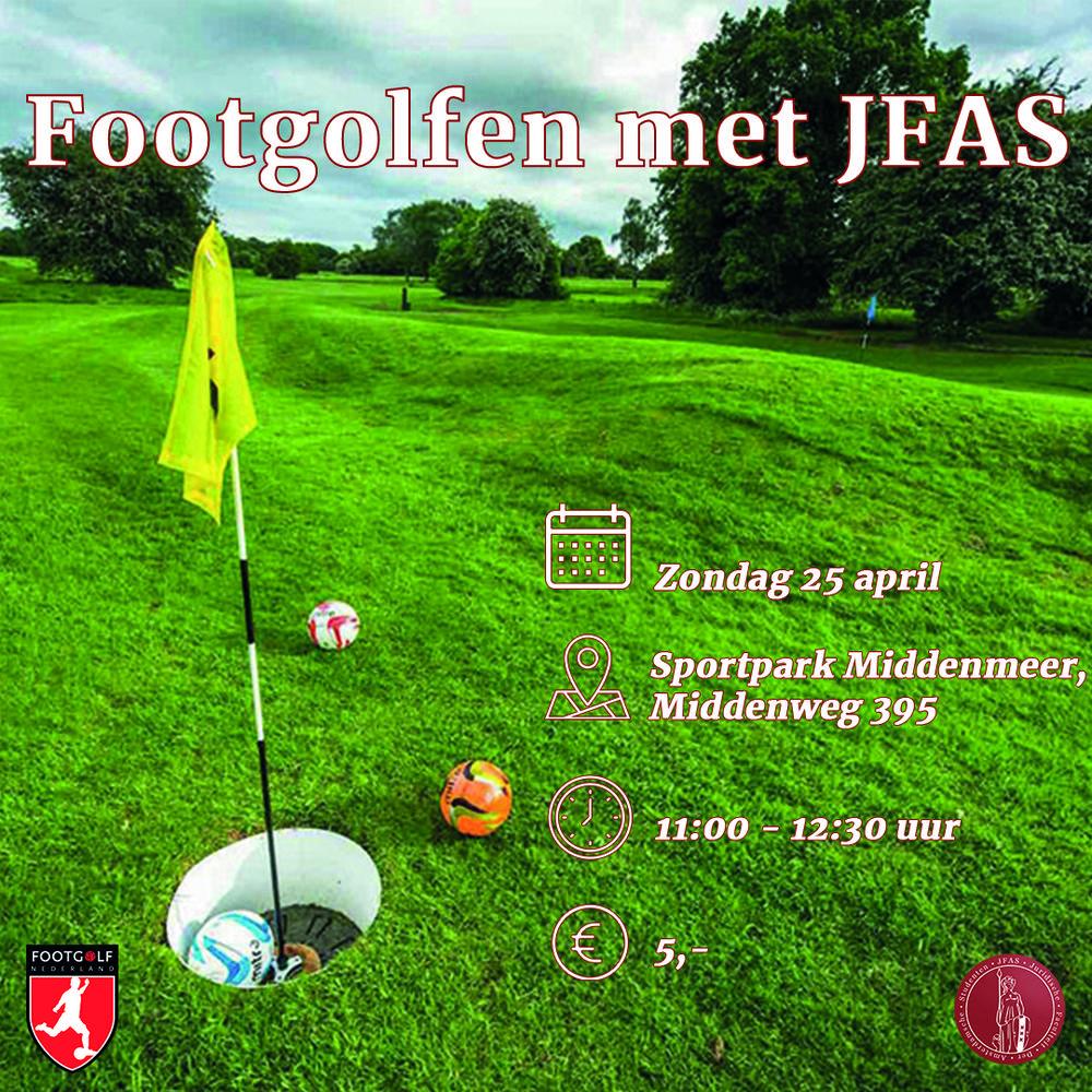 Footgolfen met JFAS