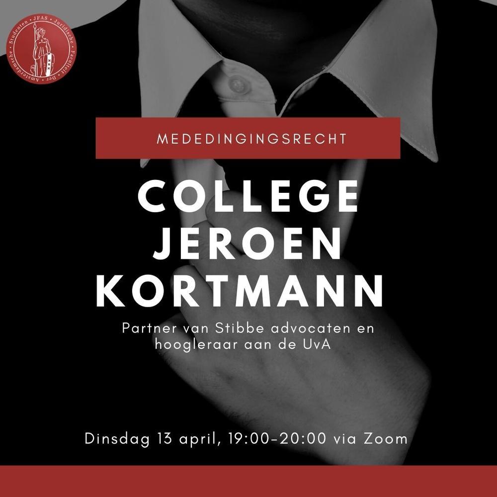 College Jeroen Kortmann