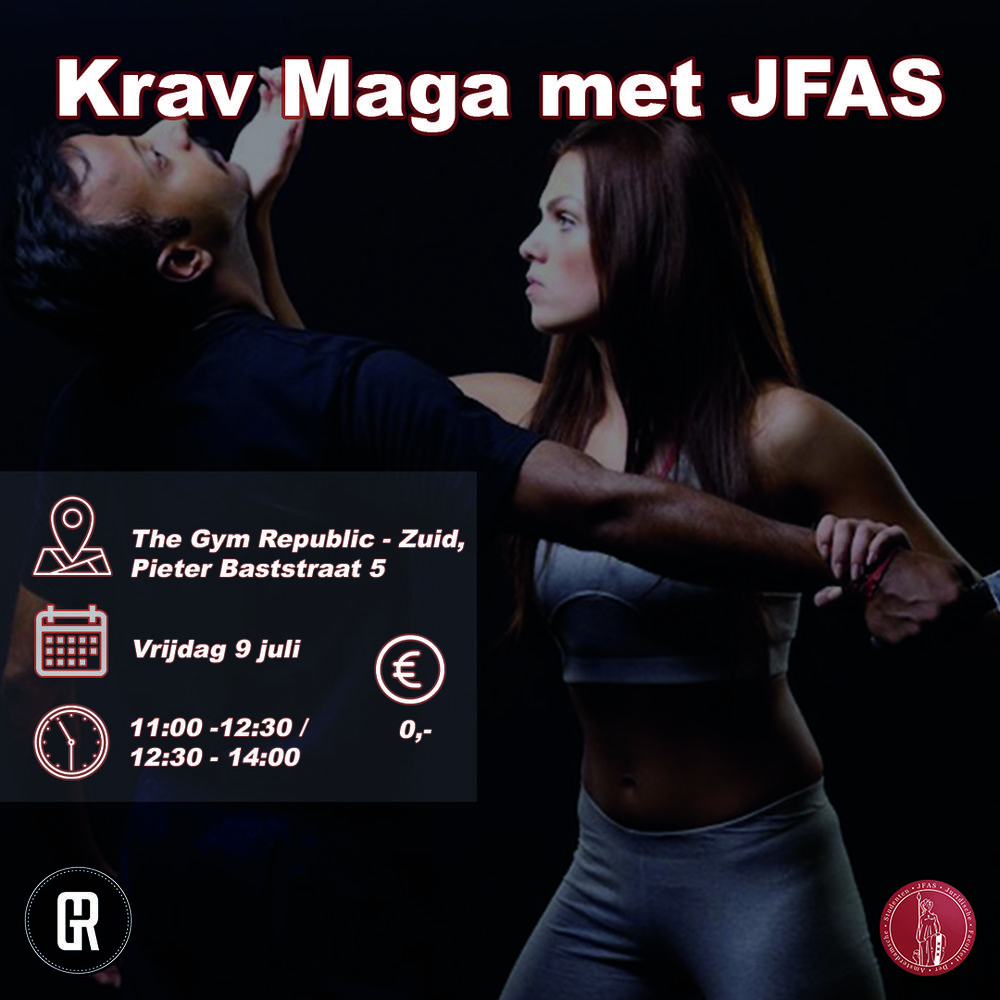 Krav Maga met JFAS