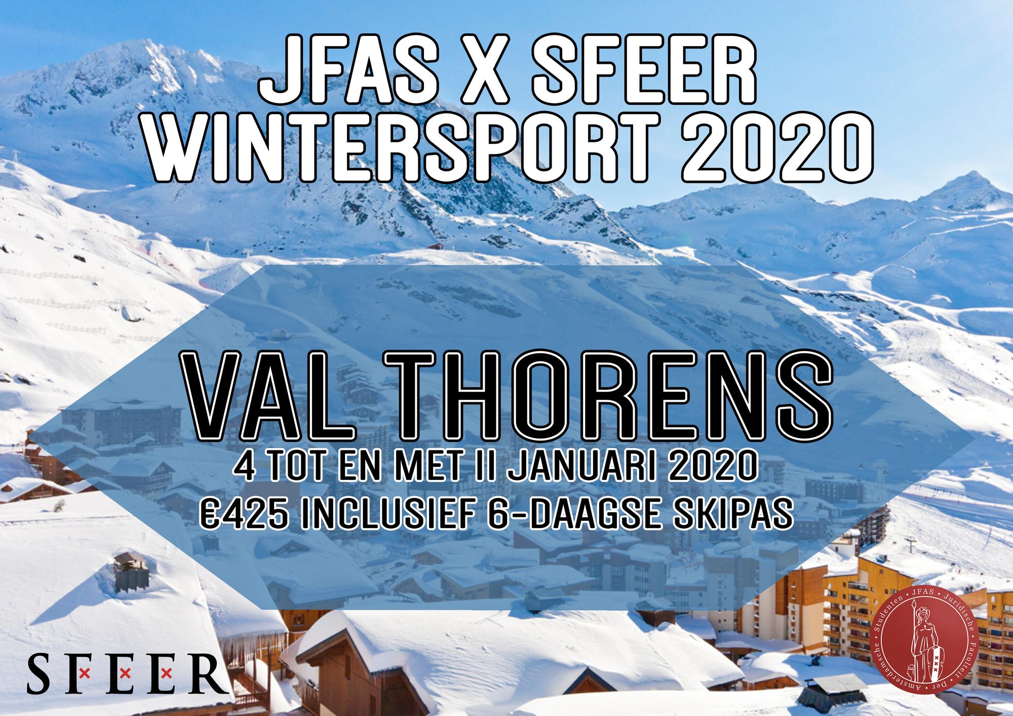 JFAS x SFEER Wintersport