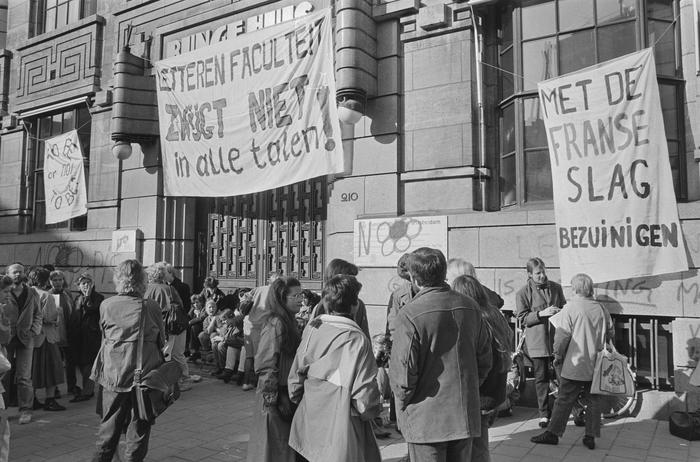 Bezetting P.C. Hoofthuis